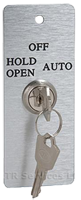 3 postion key swtich for automatic door