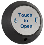 Automatic door touch pad for power assisted dda compliant doors